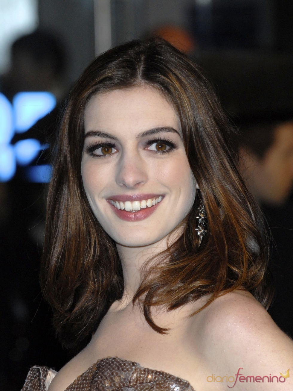Anne Hathaway, sonrisa perfecta