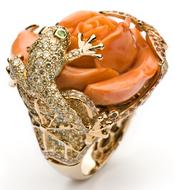 Anillo Rabat con piedras preciosas