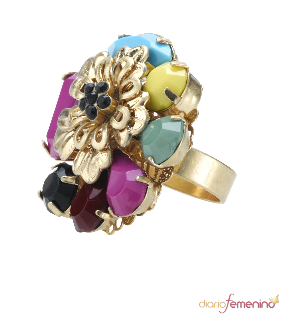 Explosión de colores en los anillos Accessorize