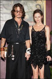 Johnny Depp y Vanessa Paradis trabajarán juntos