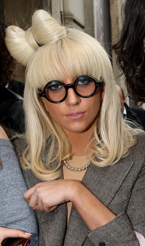 Lady Gaga: lazo de pelo
