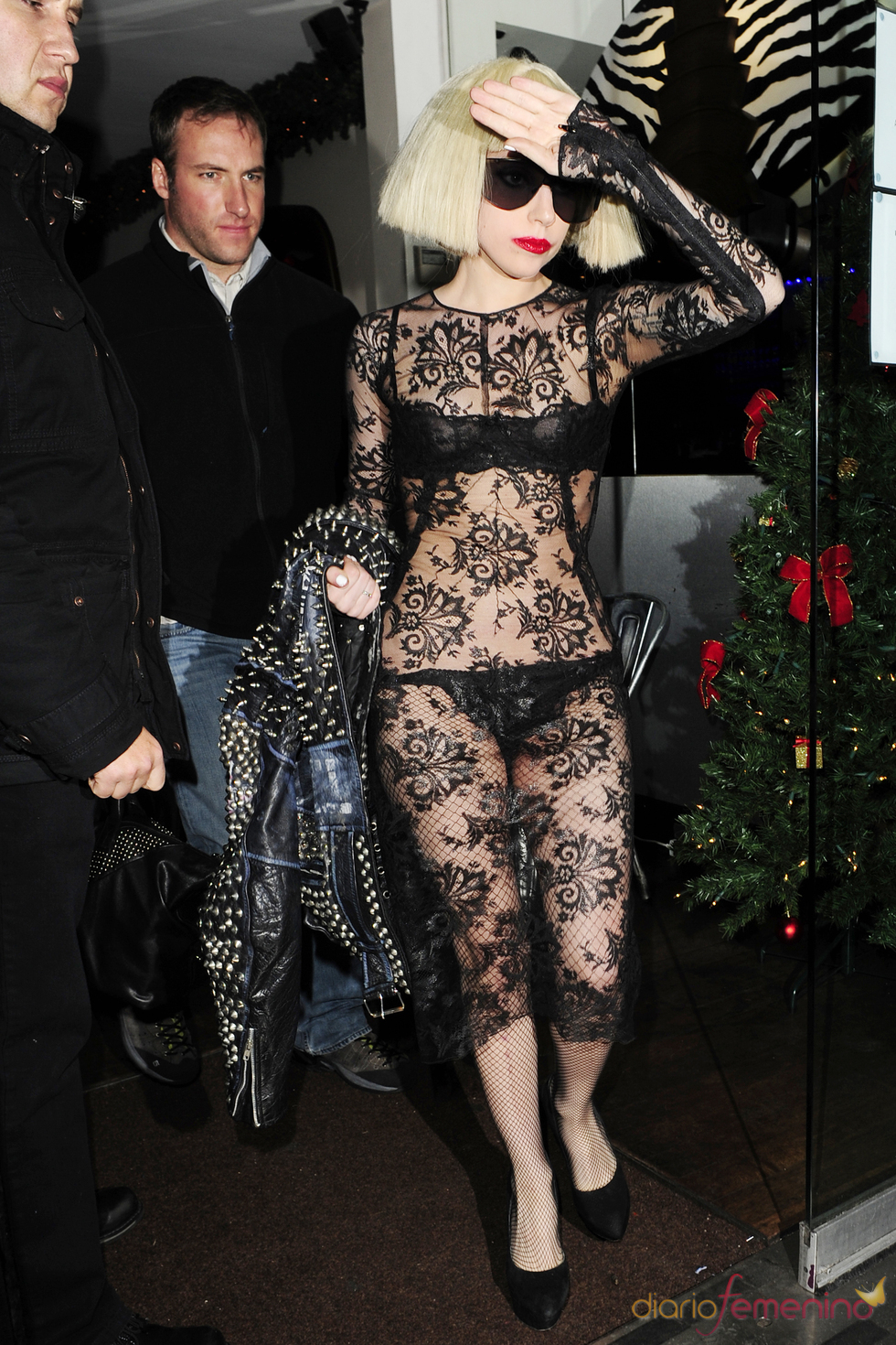 Lady Gaga: transparencia total