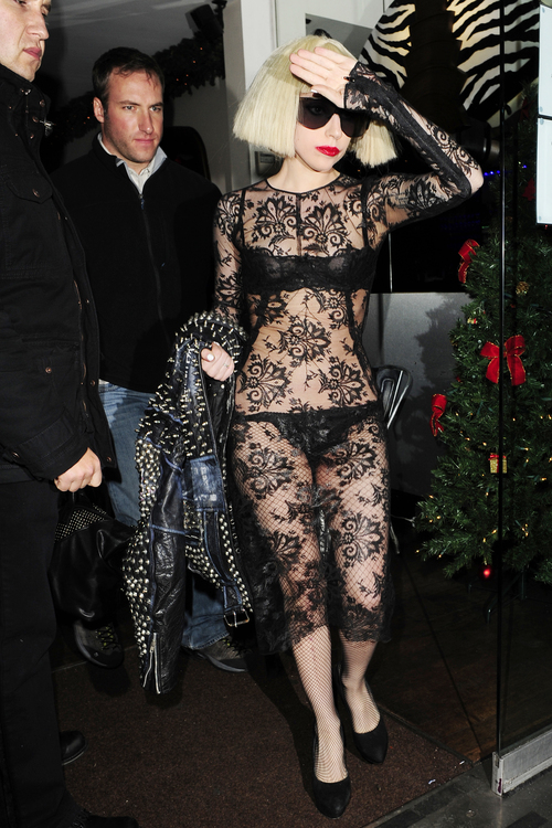 Lady Gaga: transparencia total
