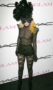 Lady Gaga en los MAC VIVA GLAM