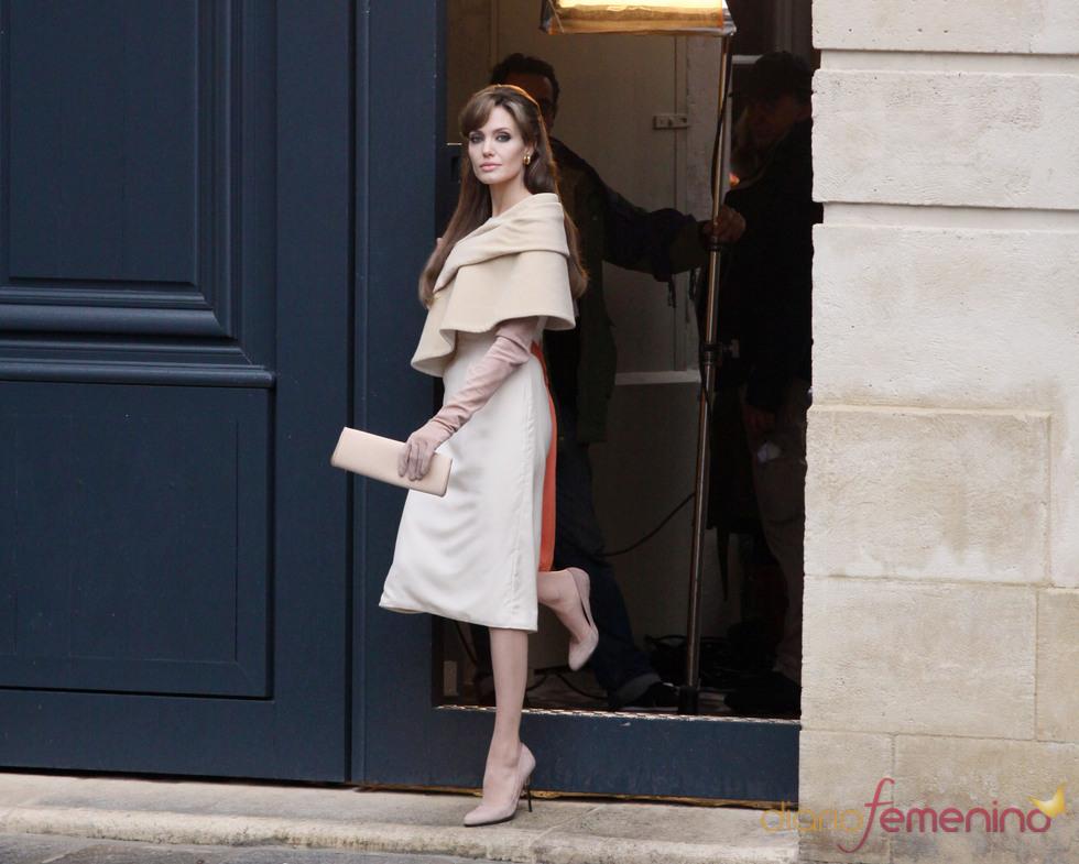 Rodaje de 'El turista': Angelina Jolie