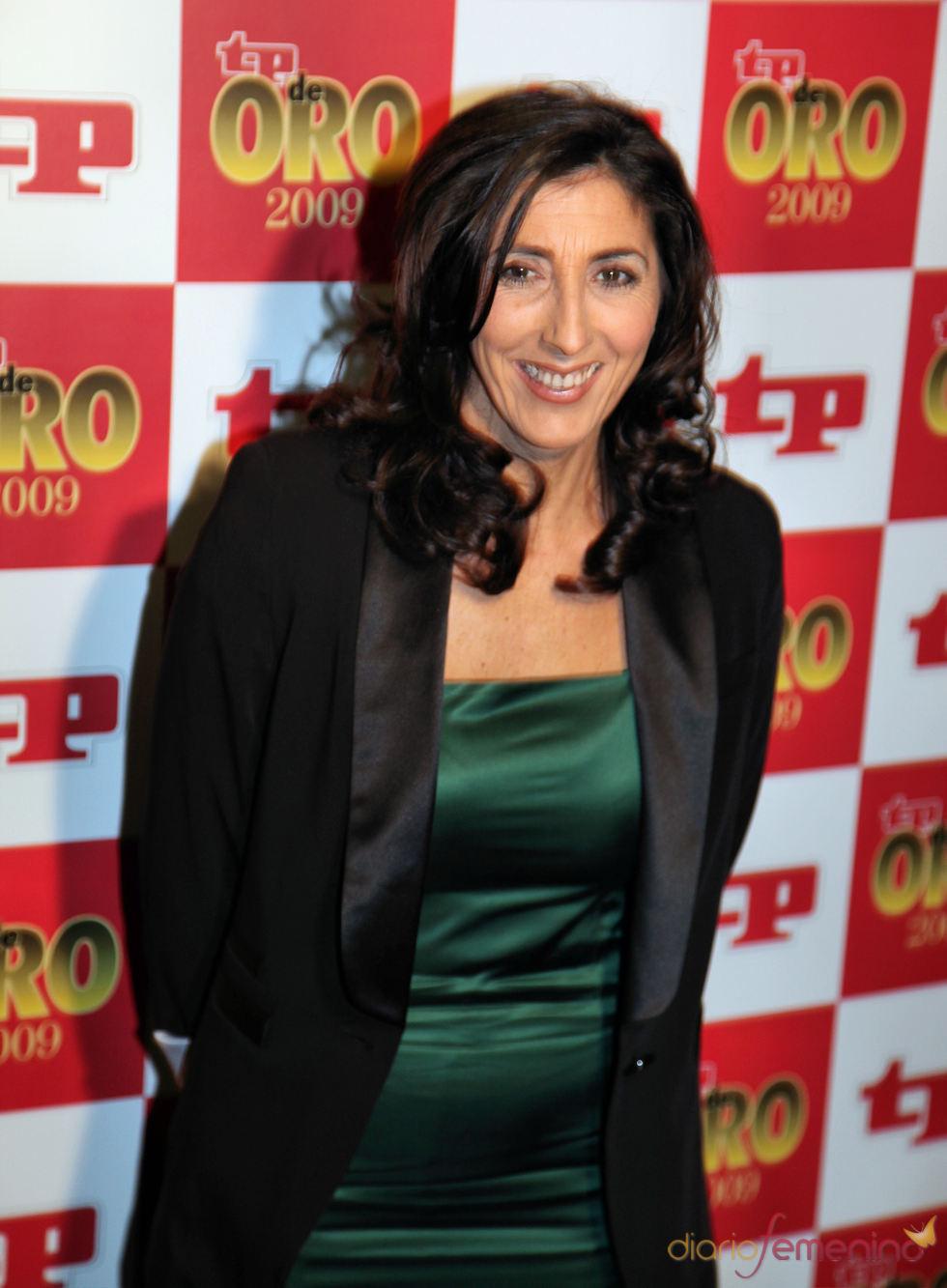Paz Padilla en los premios TP 2009
