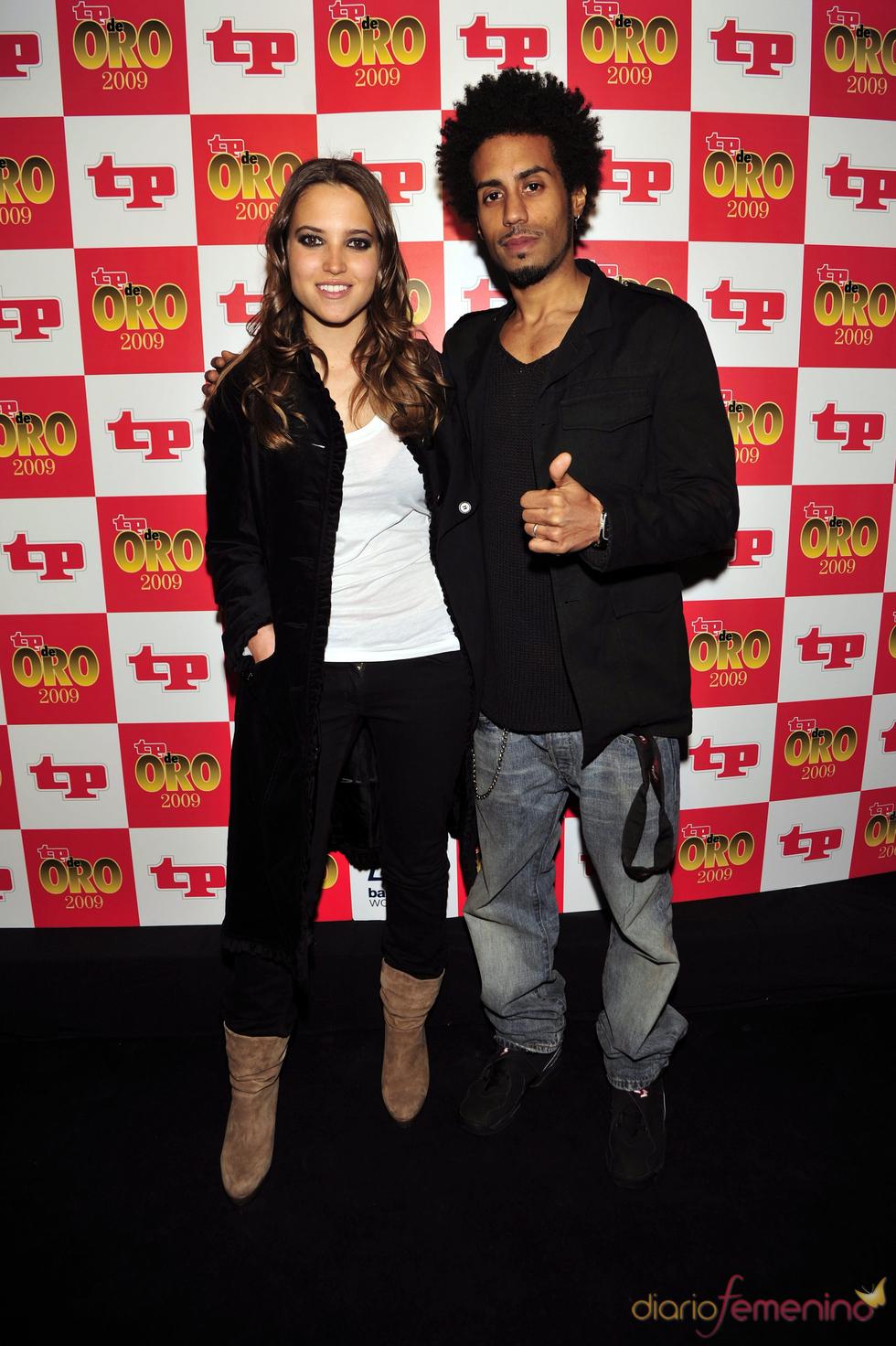 Ana Fernández y Sergio Alcover en los TP 2009