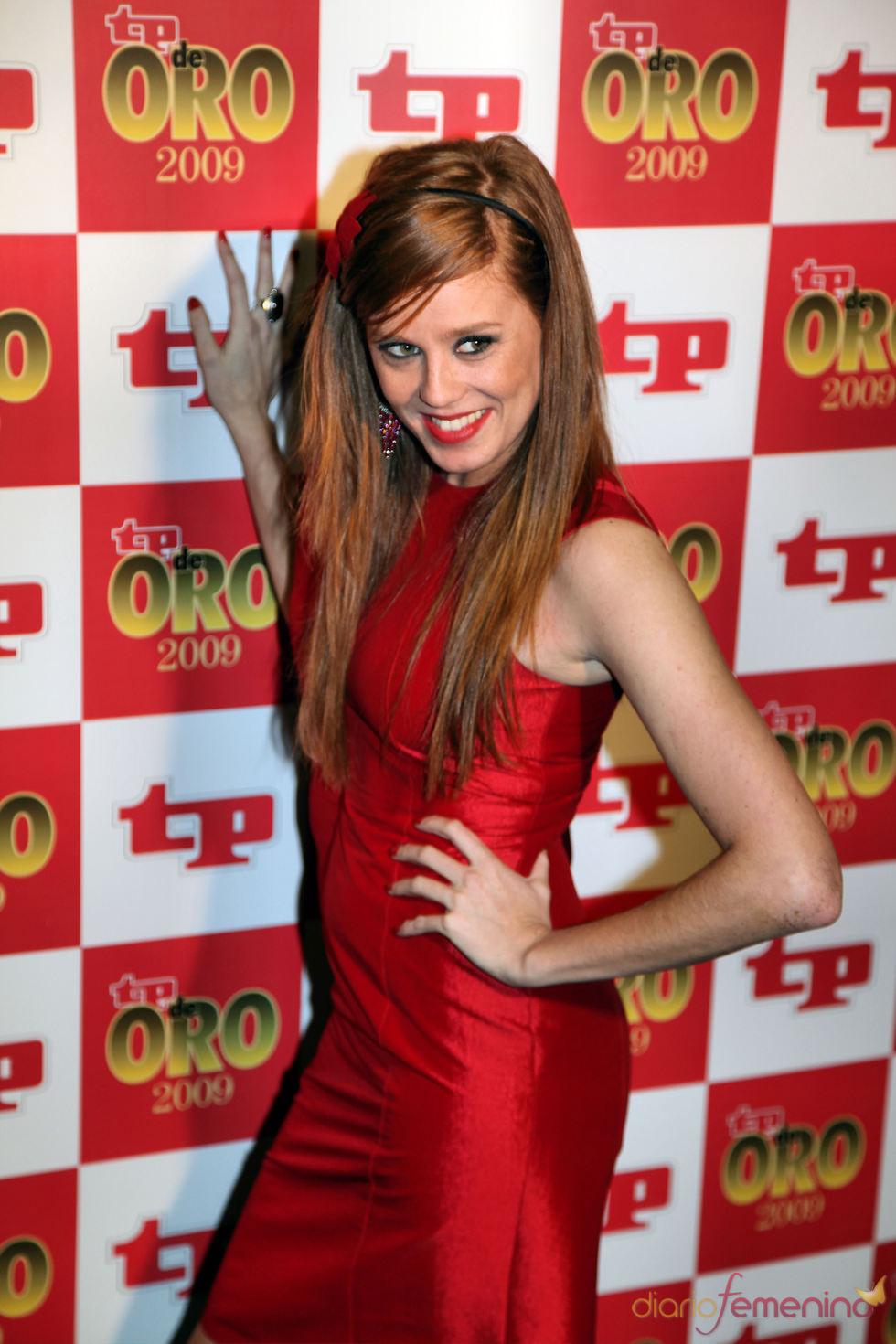 Maria Castro, espectacular en los premios TP de Oro