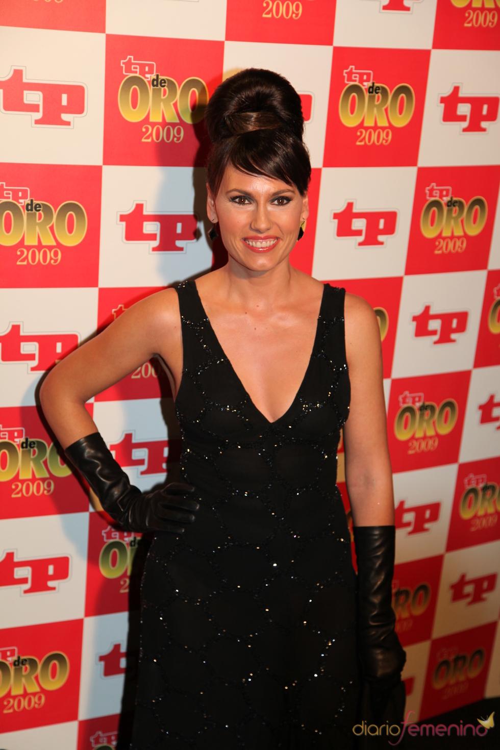 Carolina Casado, como una diva en los Premios TP 2009