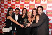 'Callejeros', ganadores de un TP de Oro