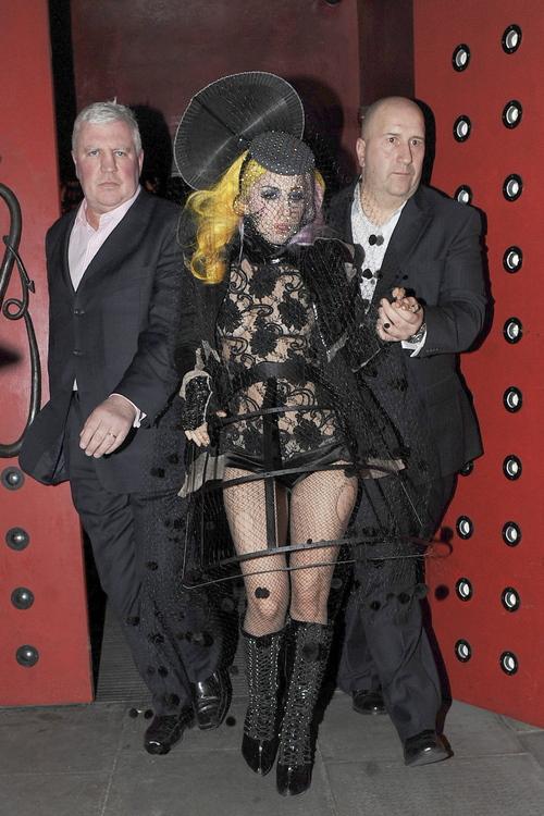 Lady Gaga: transparencias