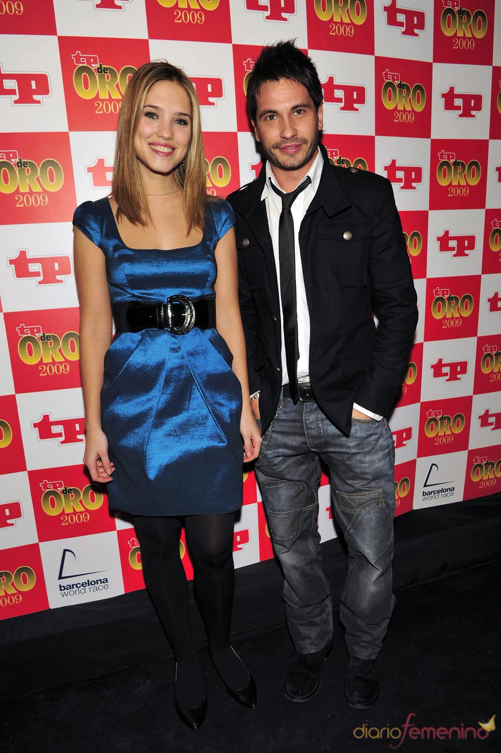 Elsa Pinilla y David de María, juntos en los Premios TP