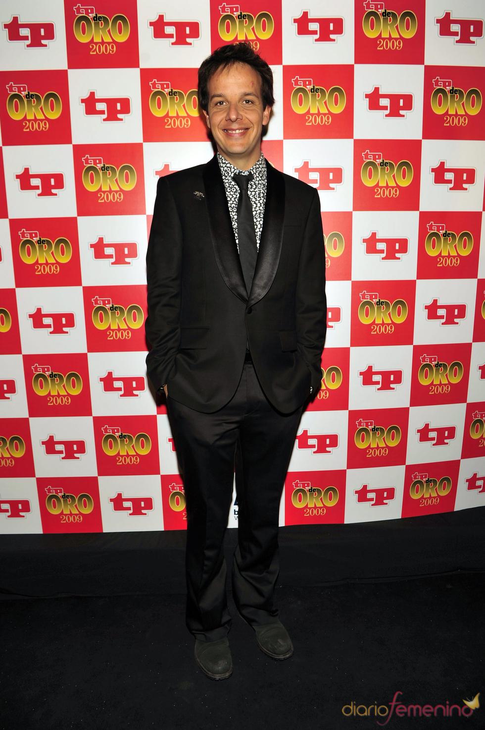Ángel Llacer en los Premios TP de Oro