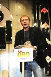 Manu Carreño, premiado en la gala de los TP de Oro 2009