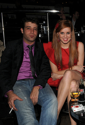 María Castro y Leandro Rivera en los Premios TP