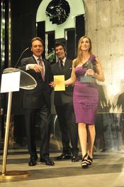 Marta Reyero y Matías Prats en los Premios TP 2009