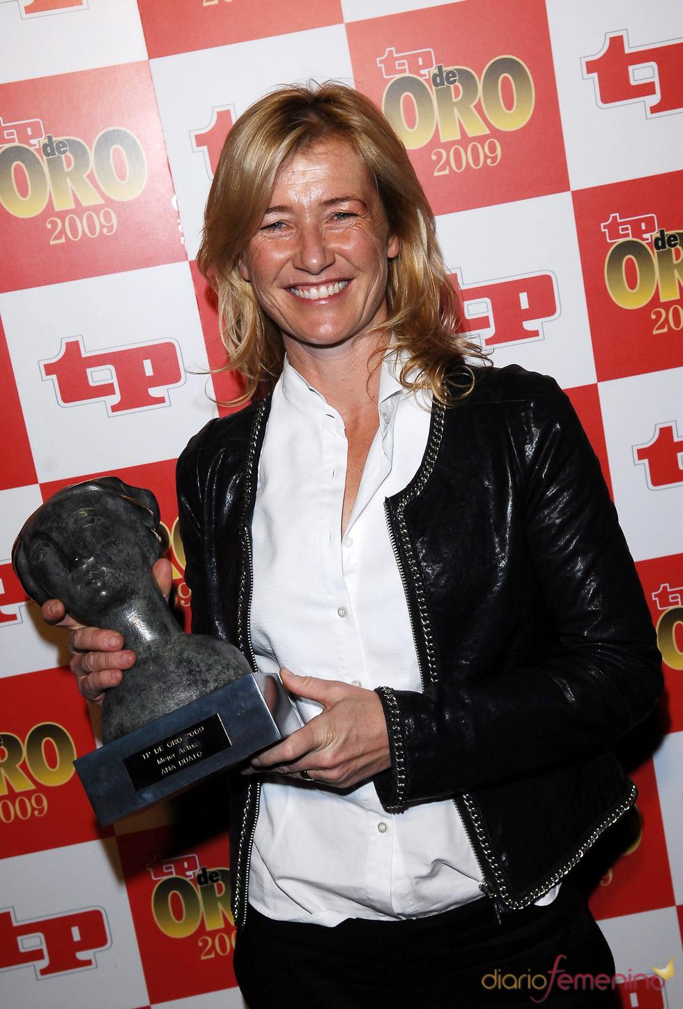 Ana Duato, con su TP de Oro 2009