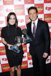 Mónica Carrillo y Matías Prats en los TP de Oro