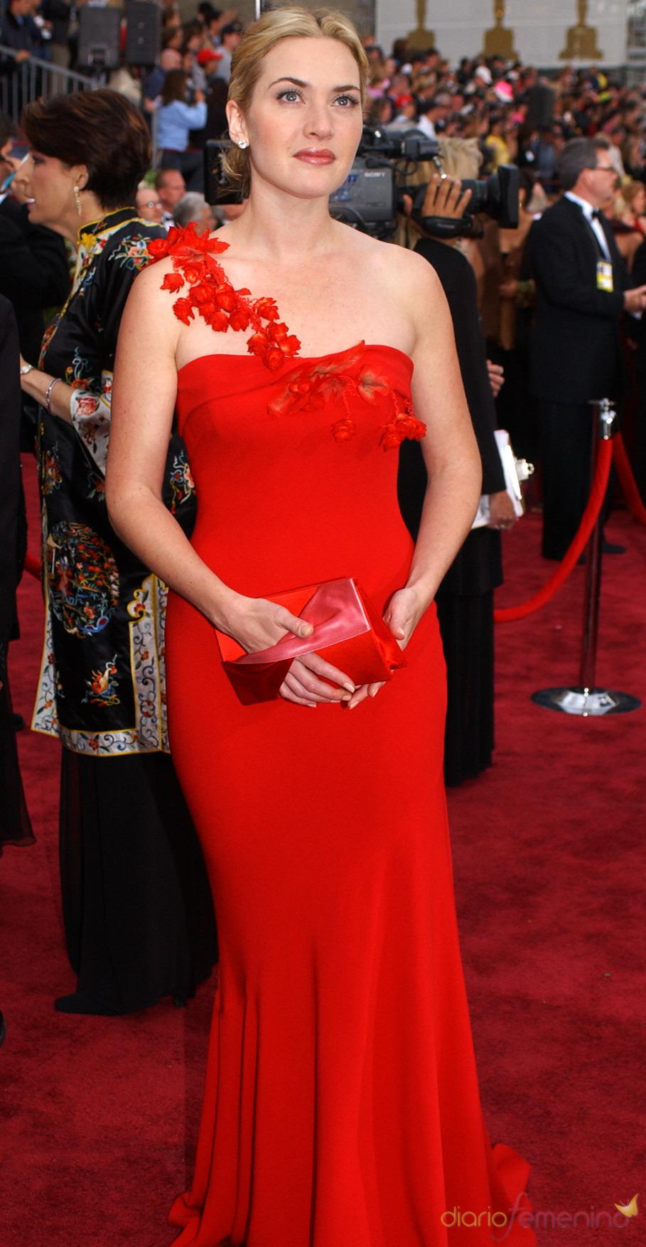 Kate Winslet, de Ben de Lisi en los Oscar 2002