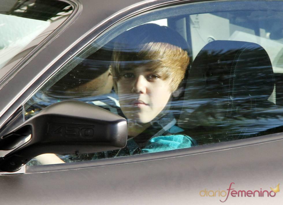 Justin Bieber con su Ferrari F430