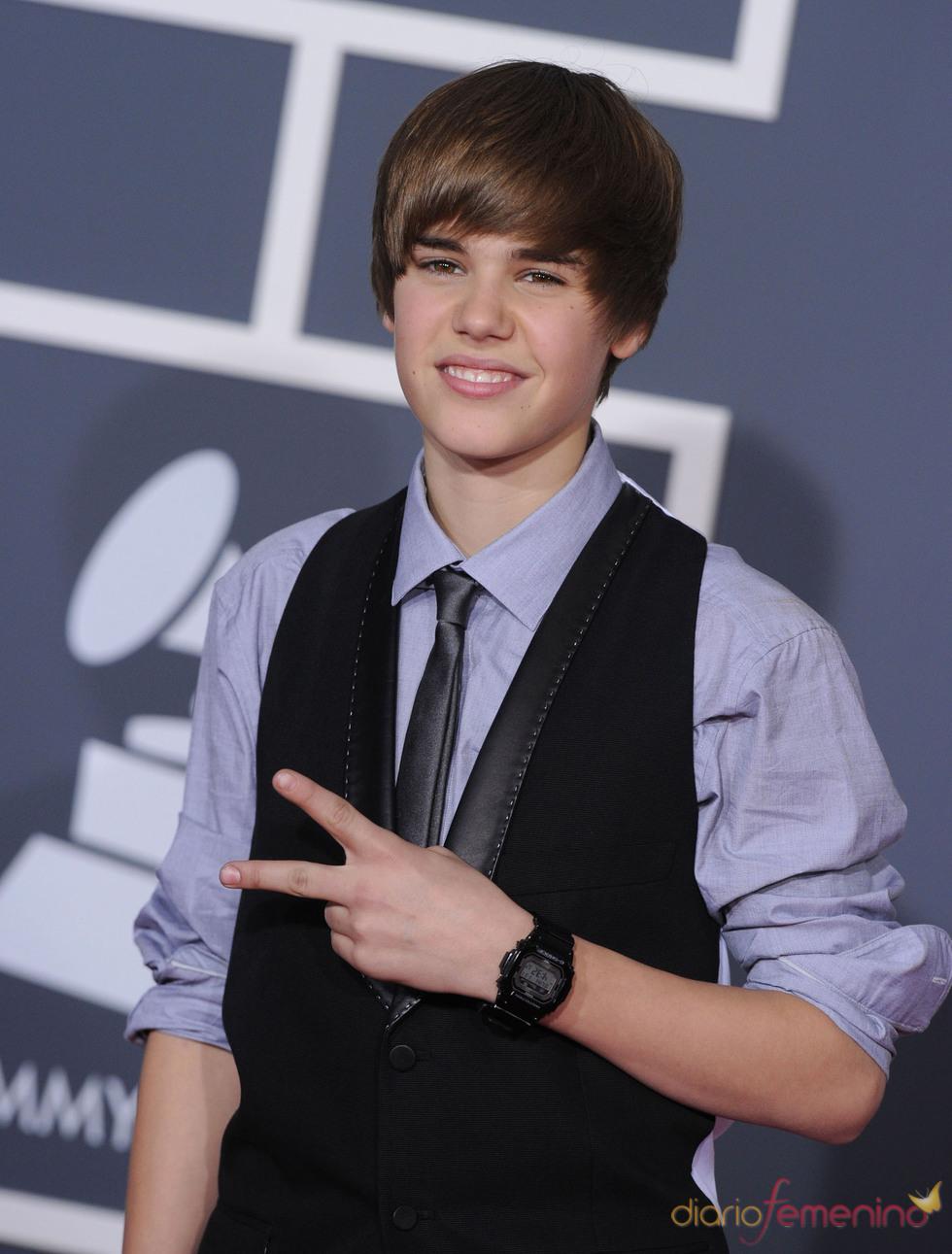 Justin Bieber en los Grammy