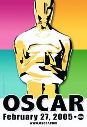 Póster oficial de la gala de los Oscars 2005