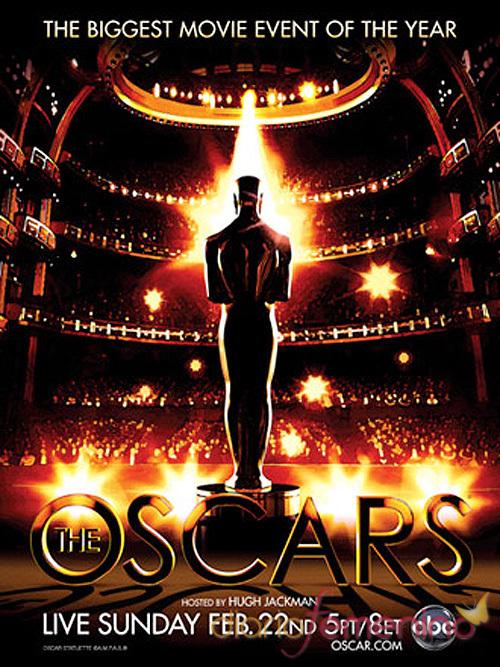 Póster oficial de la gala de los Oscars 2009