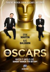 Cartel oficial de la gala de los Oscars 2010