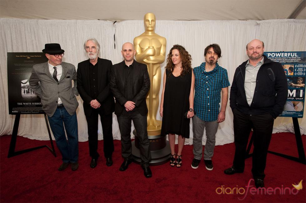 Juan Jose Campanella y y Claudia Llosa en los Oscars 2010