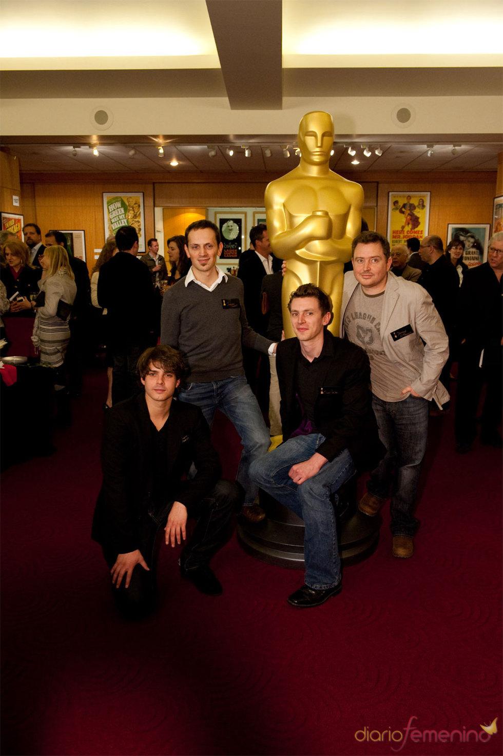 Presentación de 'La Dama y la Muerte' en los Oscars 2010