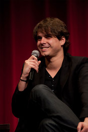 Director español Javier Recio Gracia de 'La Dama y la Muerte' en los Oscars 2010