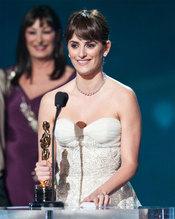 Penélope Cruz con el Oscar
