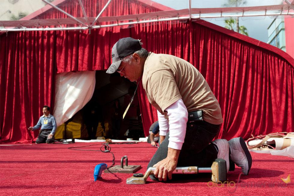 Alfombra roja - Oscars 2010 - Preparativos