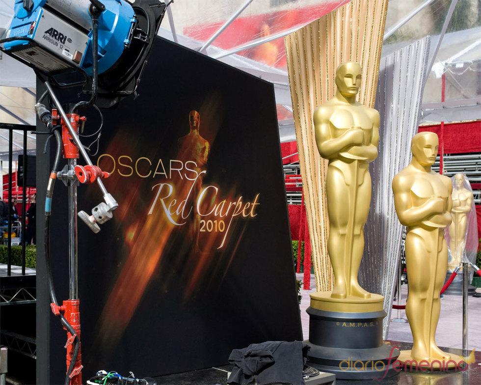 Cartel de la Alfombra Roja de los Oscars 2010