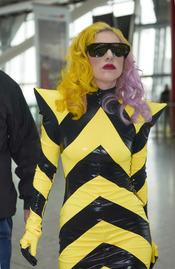 Lady Gaga, en obras