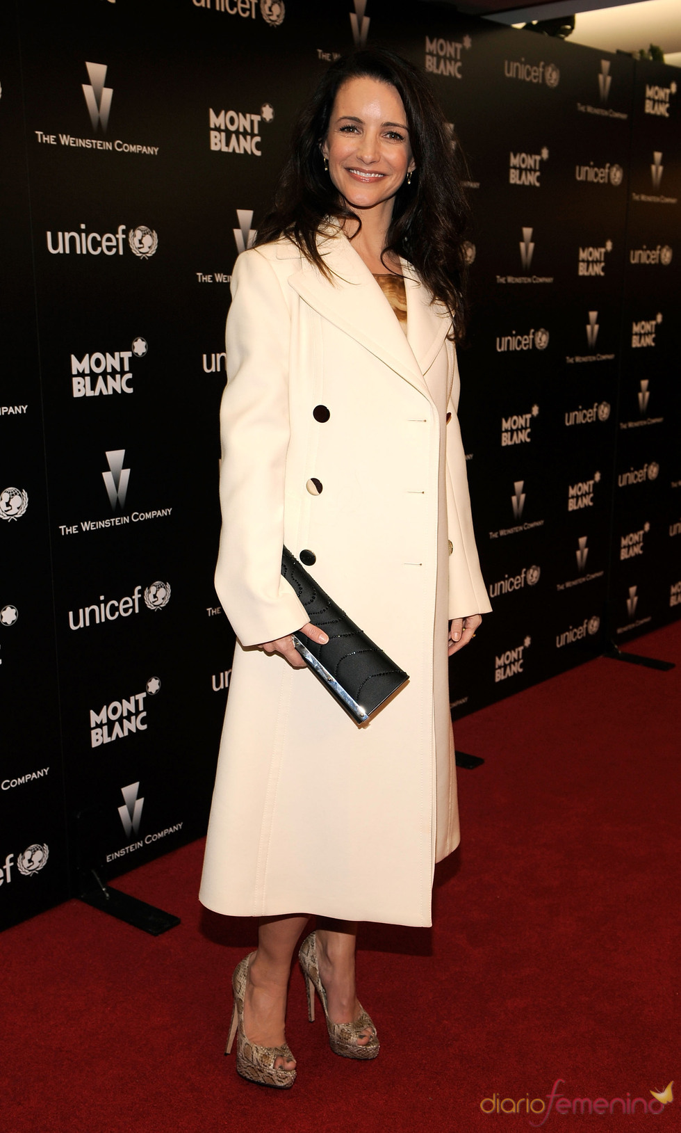 Kristin Davis en la fiesta de Unicef previa a los Oscars