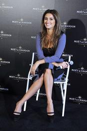 Penélope Cruz en la fiesta previa a los Oscars 2010