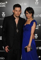 Joel Madden y Nicole Richie en la antesala a los Oscars 2010