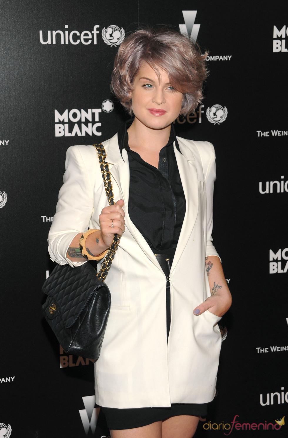 Kelly Osbourne en la fiesta anterior a los Oscars 2010
