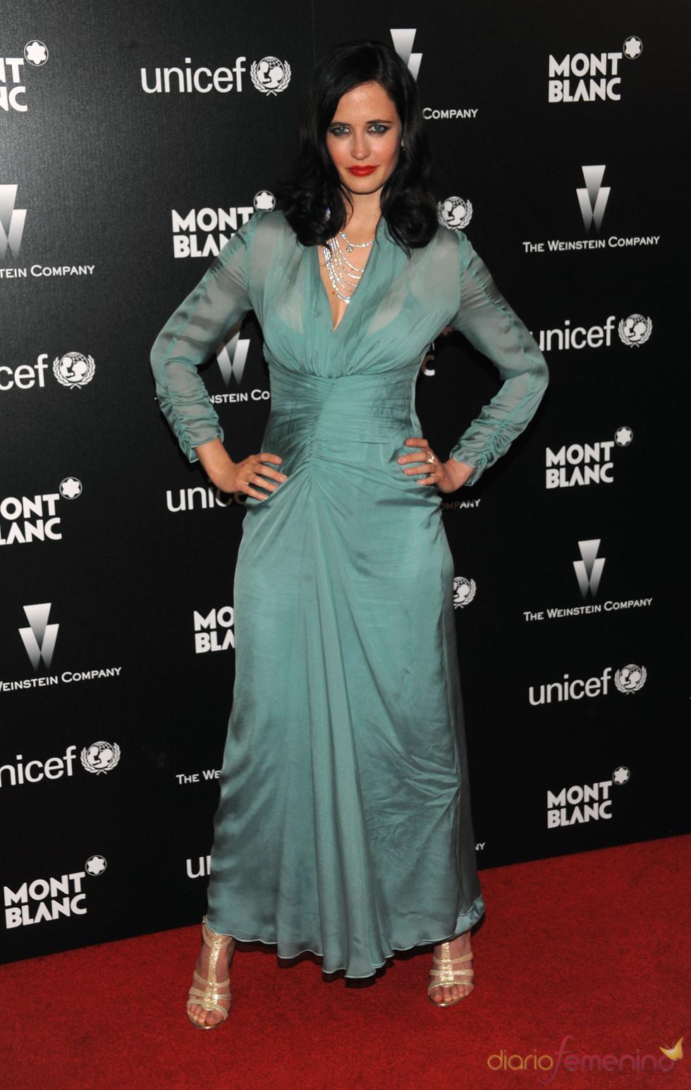 Eva Green en la fiesta previa a los Oscars