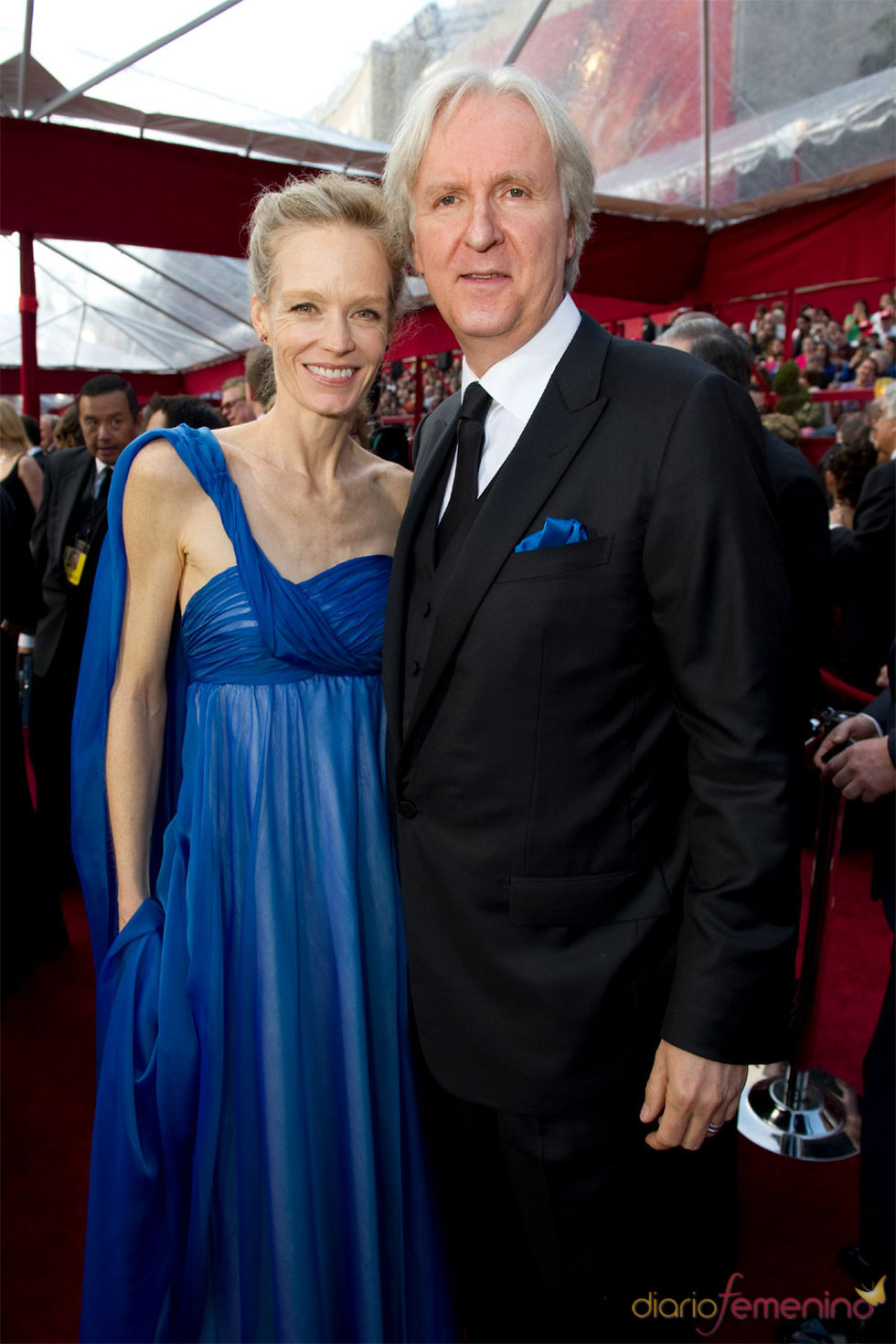 James Cameron director de 'Avatar' en Alfombra Roja