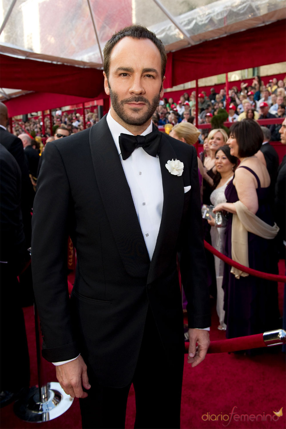 El diseñador Tom Ford en los Oscar 2010