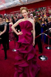 Vera Farmiga en los Oscars 2010