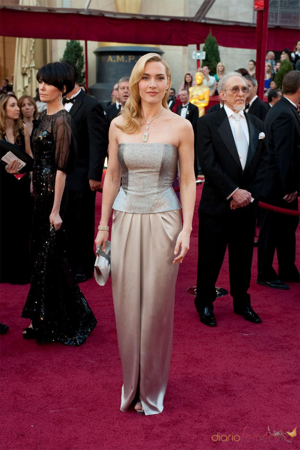 La actriz Kate Winslet a la ceremonia de los Oscars 2010
