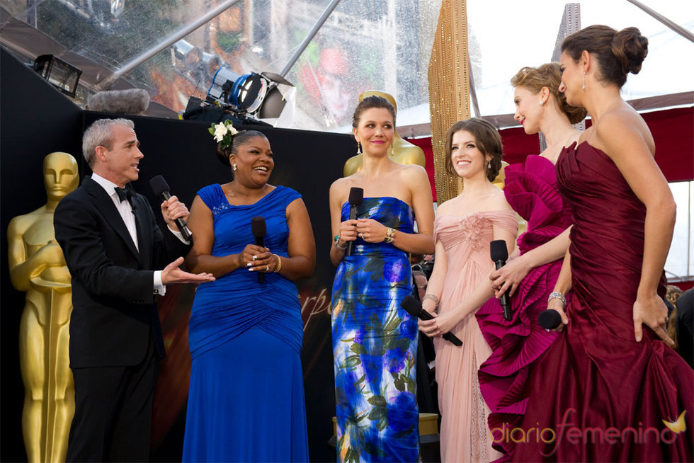 Entrevista de Penélope Cruz en la Alfombra Roja de los Oscar 2010