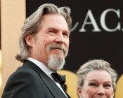 Jeff Bridges en su llegada a la ceremonia de los Oscars 2010