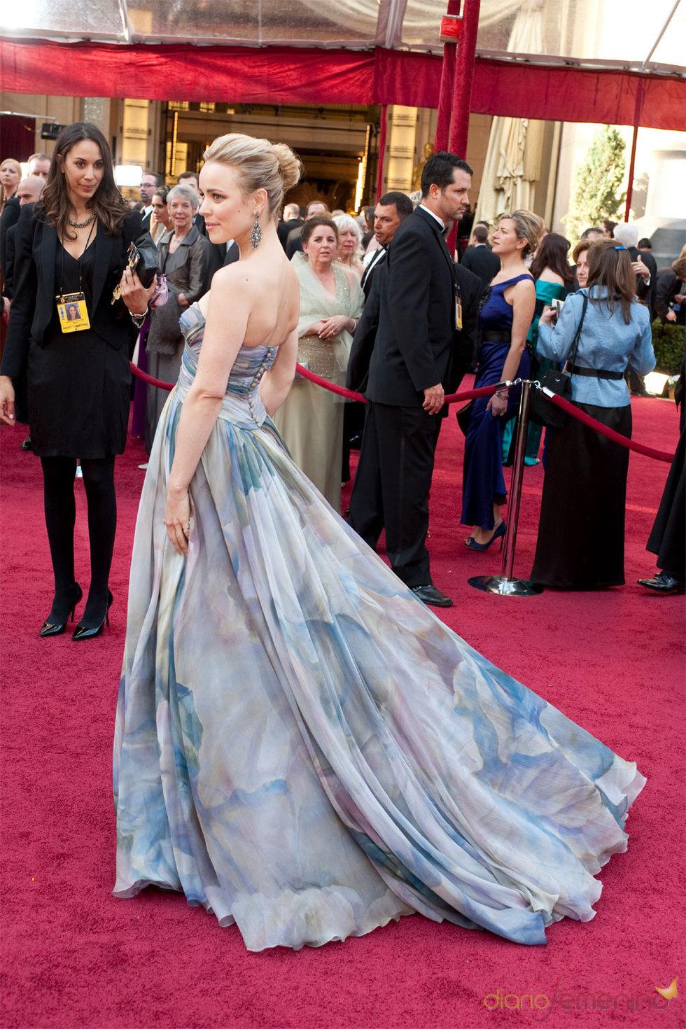 Rachel McAdams en la gala de los Oscar 2010