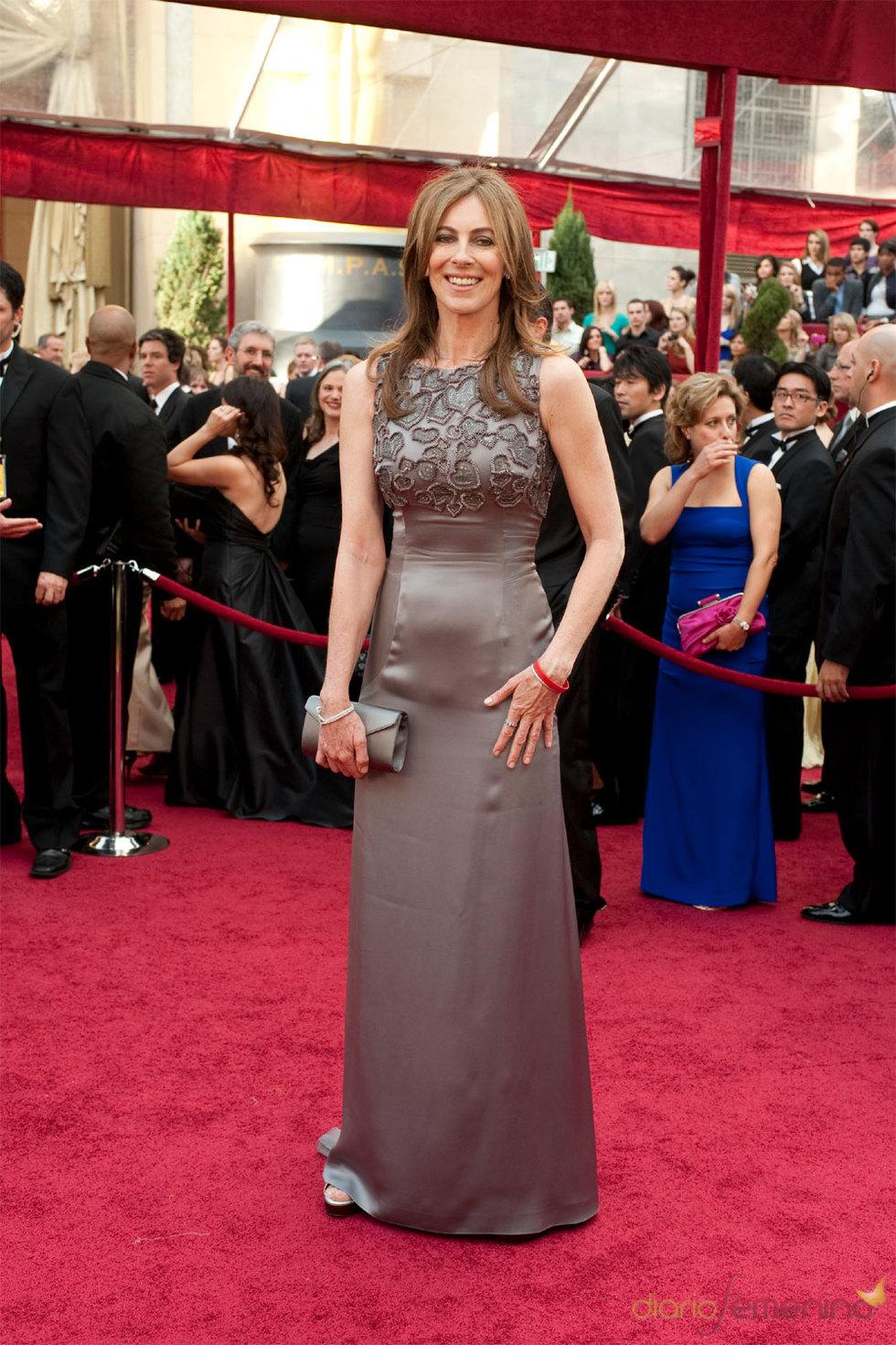 La directora Kathryn Bigelow de 'En tierra hostil' en los Oscars 2010