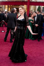 Melanie Griffith en la Alfombra Roja de los Oscars 2010