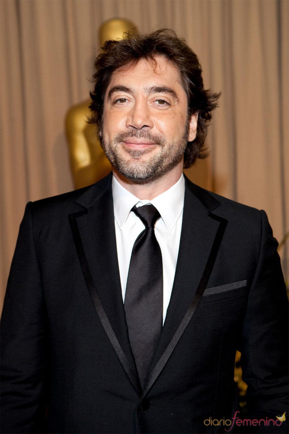 Javier Bardem en la ceremonia de los Oscars 2010